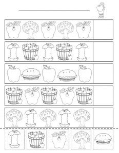 pattern recognition for 4 year olds pattern worksheet for kids crafts and worksheets for
