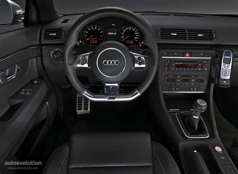 Audi Rs4 Interior by Audi Rs4 2005 2006 2007 2008 Autoevolution