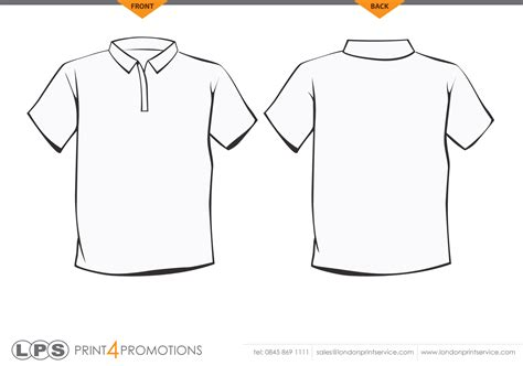 polo t shirt template free download t shirt template gt gt 18