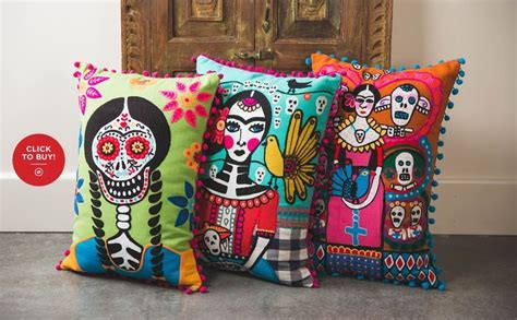 Day Of The Dead Bedroom Ideas by 1000 Ideas About Mexican Fabric On Tribal
