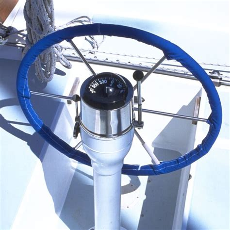 boat steering wheel leather canvas steering wheel cover boatleather