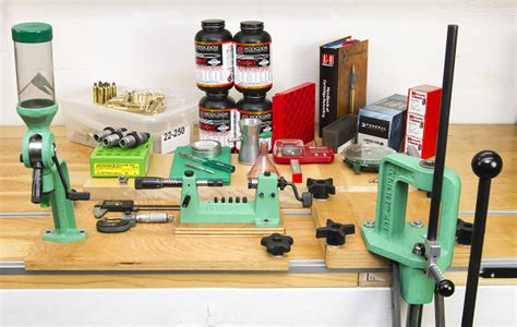 reloading bench kit a good baseline equipment and components package for