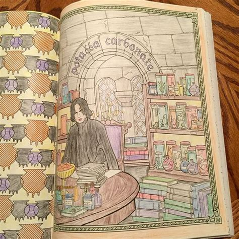 harry potter coloring book snape the world s catalog of ideas