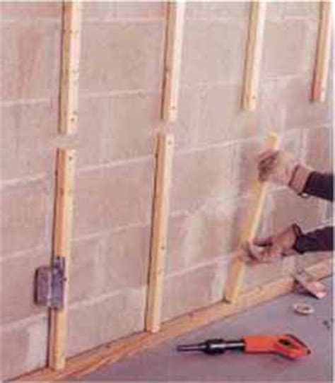 covering foundation walls home carpentry green