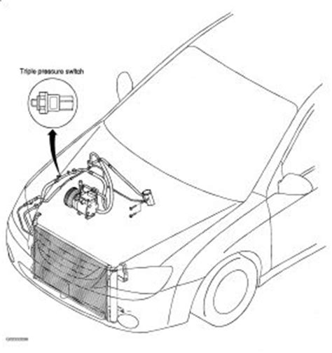 kia spectra air conditioning  works