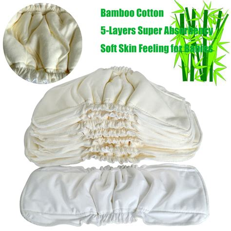 Clodi Babyland Bamboo 2 Insert Bambo 2 In 1 Poket Dan Cover 1 babyland bamboo cotton waterproof insert bamboo reusable baby nappies 1pcs in baby
