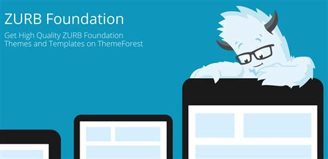 zurb foundation templates on themeforest