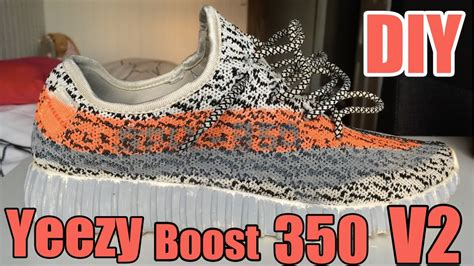 aliexpress yeezy v2 diy how to make custom aliexpress yeezy boost 350 v2
