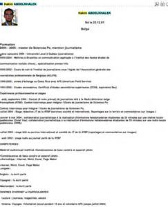 curriculum vitae exles journaliste francaise kidnapee mot cl 233 tv ebey page 8