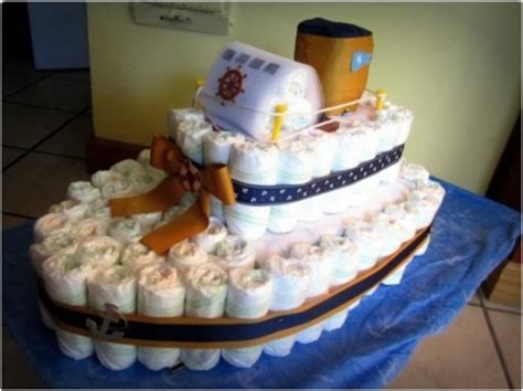 how to make a boat shaped diaper cake top list 25 creative adorable diaper cake ideas you
