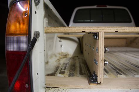 build your own truck bed slide out what this guy built is brilliant and going to make truck