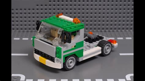 tutorial lego truck how to build lego creator 6743 truck moc full tutorial