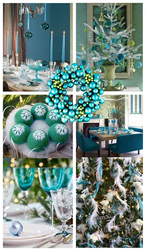 tiffany blue christmas luxury interior design