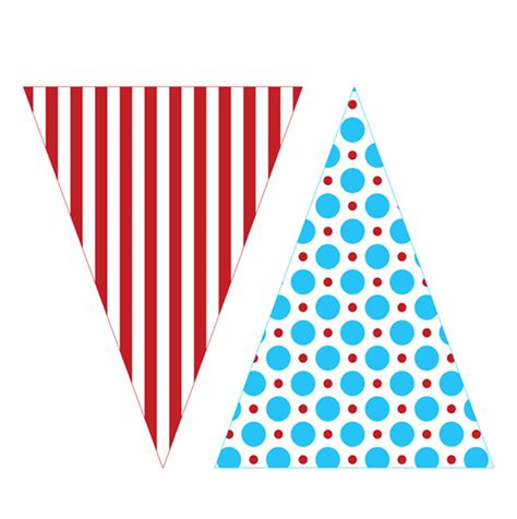 printable happy birthday triangle banner 9 best images of dr seuss printable banner free