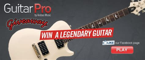 Guitar Giveaways - july 2012 guitar pro blog arobas music