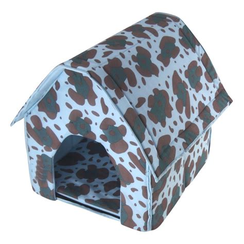 collapsible dog house shark small pet bed