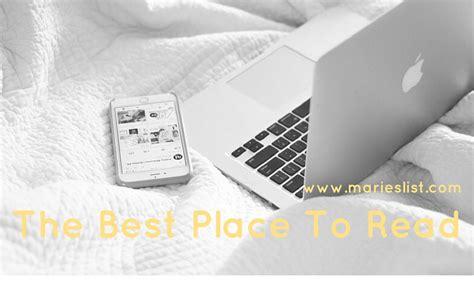 best place to read the best place to read theislandreader