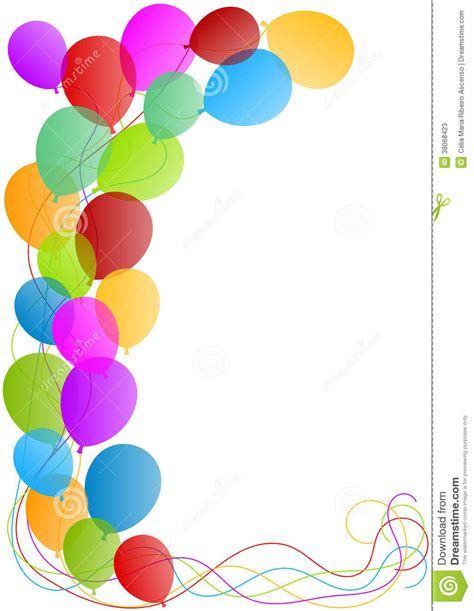 balloon border template free congratulations balloons clipart clipart suggest