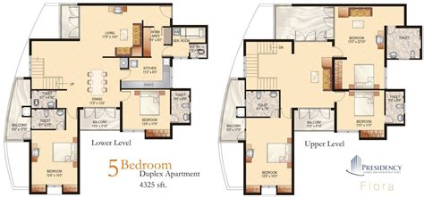 4 bedroom duplex floor plans 5 bedroom duplex house plans luxury 4 bedroom duplex floor