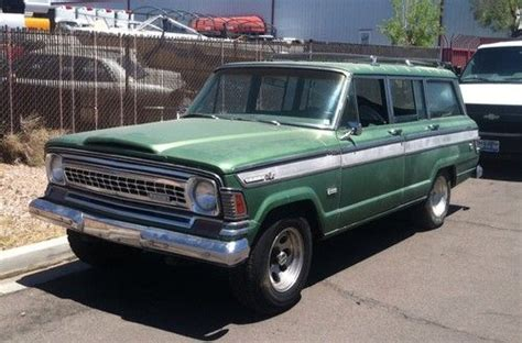 Jeep Wagoneer 1973 Sell Used 1973 Jeep Wagoneer 4x4 Chevy Powered In Las