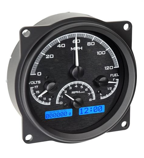 jeep speedometer sell dakota digital 55 86 jeep cj vhx analog dash gauges