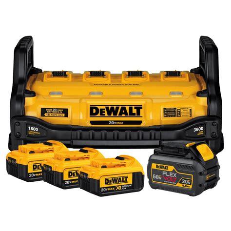 dewalt 12v battery charger dewalt portable power station with flexvolt 1 60 volt