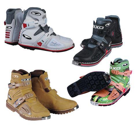 short dirt bike boots axo slammer short motocross enduro boots clearance