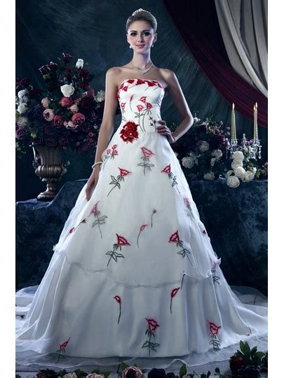 Brautkleider Mit Farbe by Color Wedding Dresses Cheap Colored Wedding Bridal