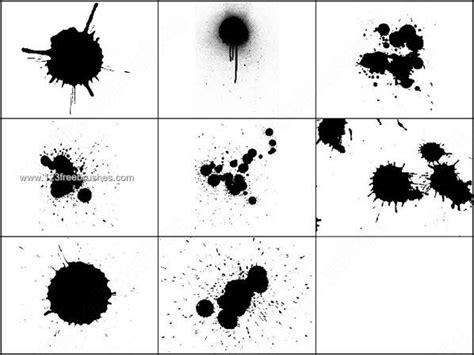 pattern brush photoshop cs2 free splatter ink brushes set for photoshop cs2