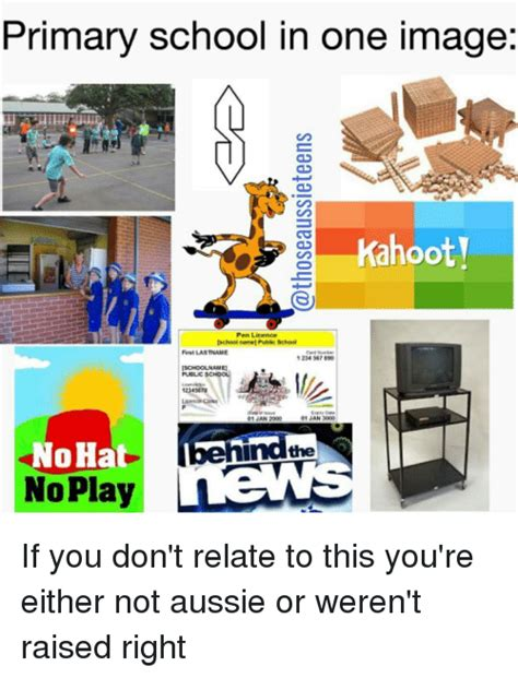 Public School Meme - primary school in one image kahooty pen licence ischool
