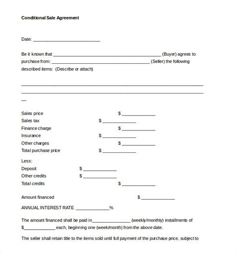 sales agreement sales agreement template 16 free word pdf document