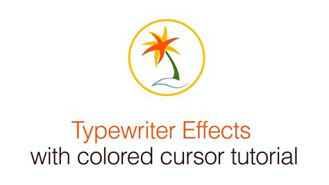 tutorial after effects typewriter free typewriter effect after effects with colored cursor