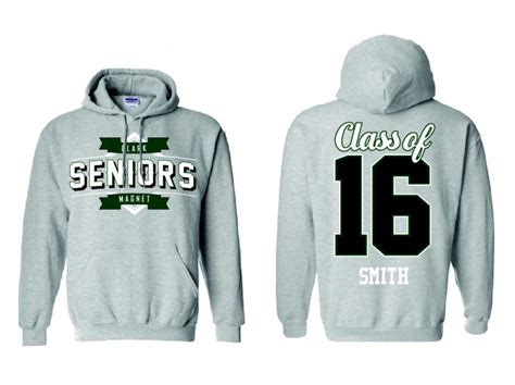 design senior hoodie clark chronicle administration removes nicknames from