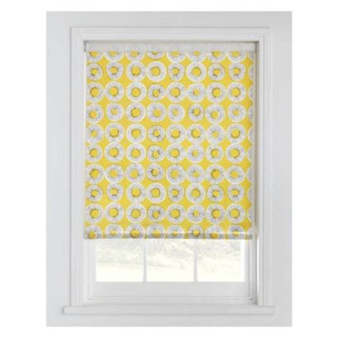 yellow patterned roller blinds roller blinds our pick of the best housetohome co uk