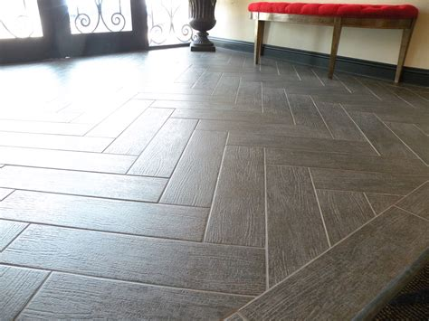 tile pattern wood look herringbone tile aw design studio