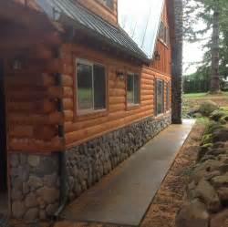 best 25 log siding ideas on log cabin siding