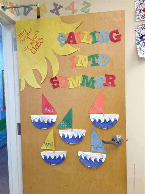 themes ideas for summer c home summer classroom door decorations with summer jpg