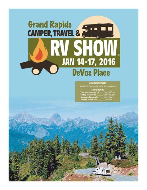 grand rapids camper travel rv show program