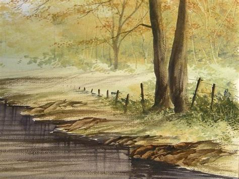 watercolor river tutorial watercolour tutorial painting a river
