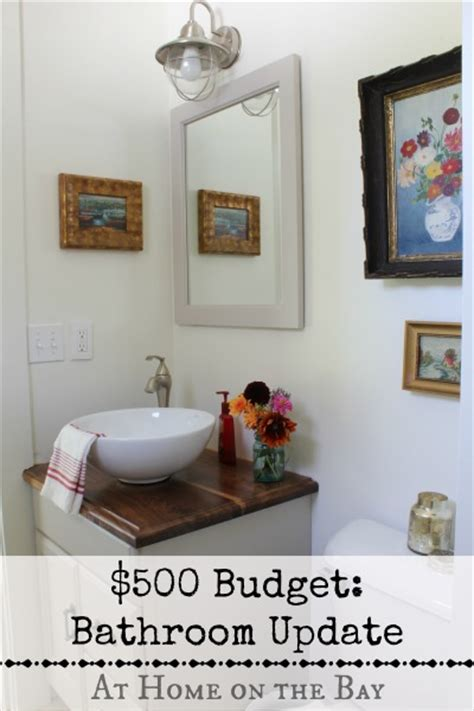 small bathroom updates on a budget bathroom updates on a 500 budget