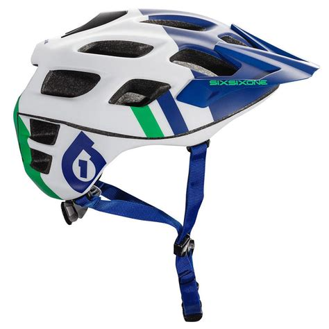 661 motocross helmet 661 recon mtb bike helmet blue green matt gardiner