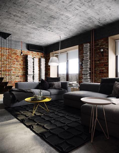 Small Office Decoration czerwona postarzana ceg a na cianach betonowy zdj cie w