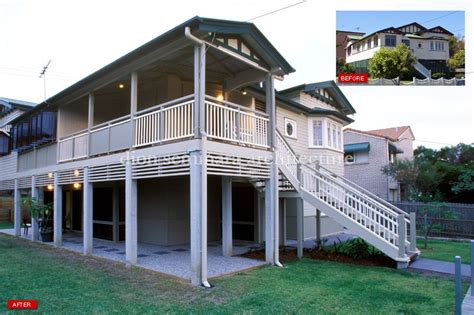 Home Designs Central Queensland Renovate A Queenslander Or Design A New Queenslander