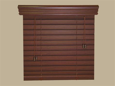 Inexpensive Blinds Discount Fauxwood Window Blinds 70 Quot W By 49 Quot To 60 Quot L Real
