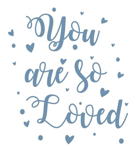 Oma You Are Loved sticker tekst you are so loved muurteksten