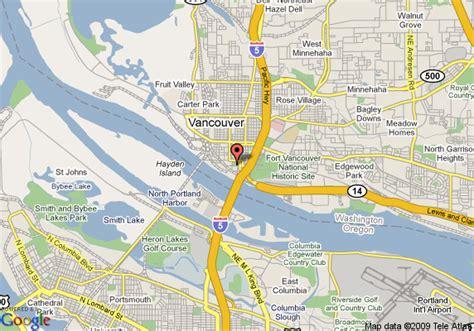 vancouver wa map of vancouver washington vancouver