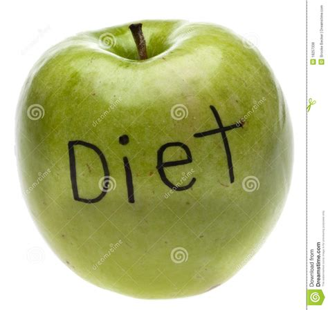 apple diet diet concept apple royalty free stock photos image 18257338