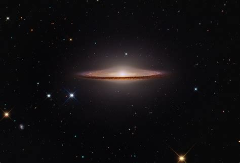 sombrero galaxy apod 2015 february 5 m104 the sombrero galaxy