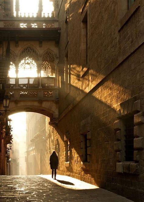 barcelona gothic quarter barcelona spain gothic quarter spanish pinterest