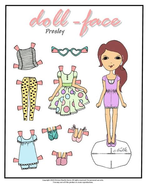 printable paper doll faces doll face printable paper dolls art print hand drawn